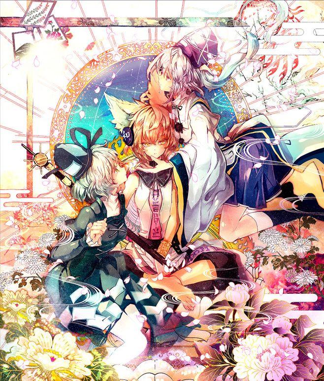 东方project 物部布都 丰 大雨尸身采集到东方幻想乡 484图 花瓣 anime anime fanart anime images