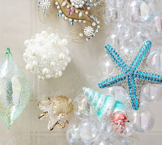 Octopus Glass Ornament Glass Ornaments Glass Christmas