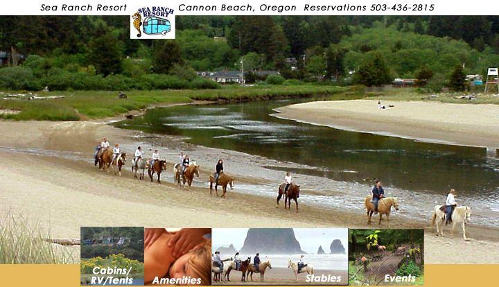 Sea Ranch Rv Park Stables Cannon Beach Oregon Cannon Beach Oregon Cannon Beach Rv Parks
