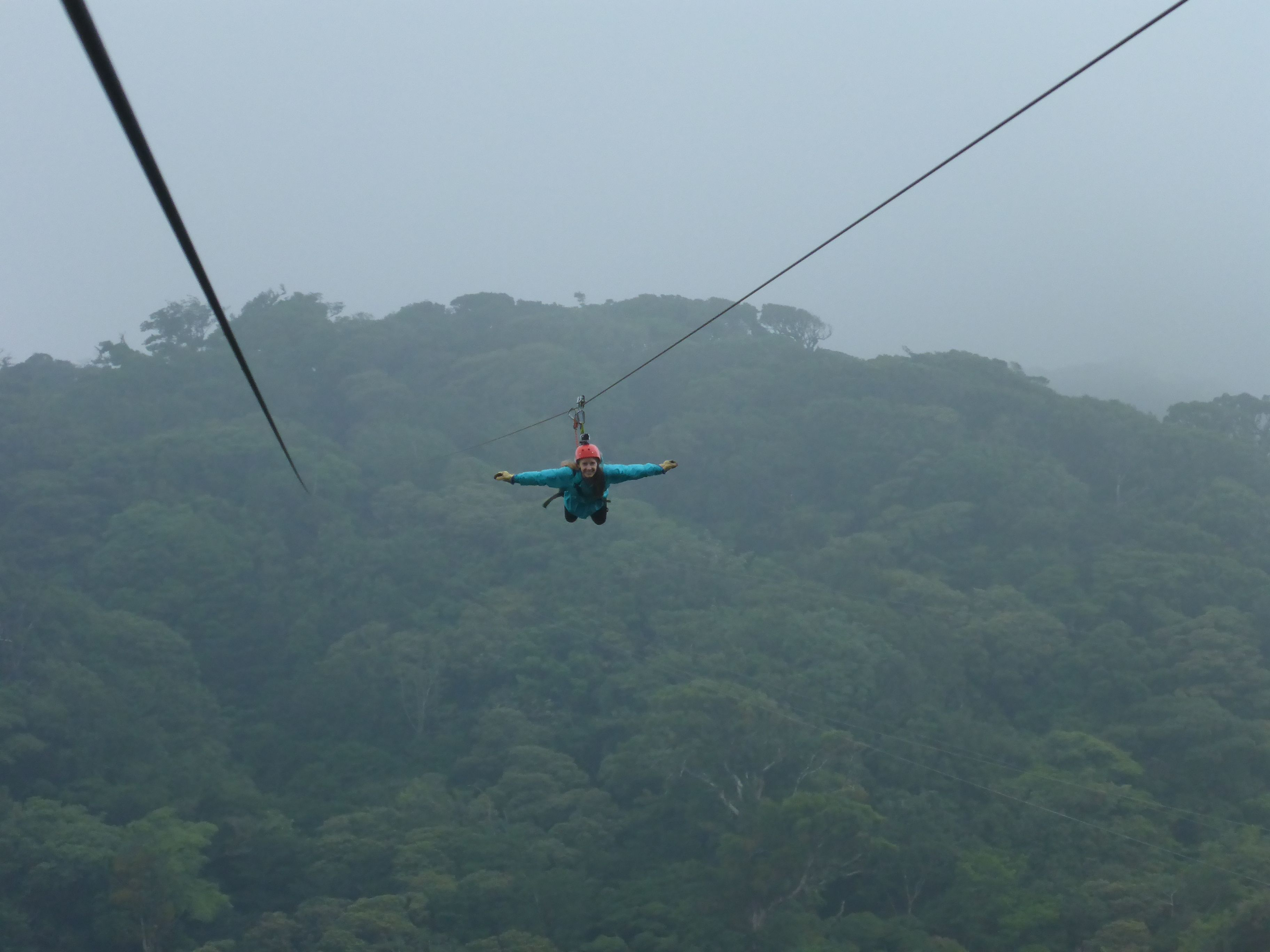 Costa Rica Zip Lining Superman