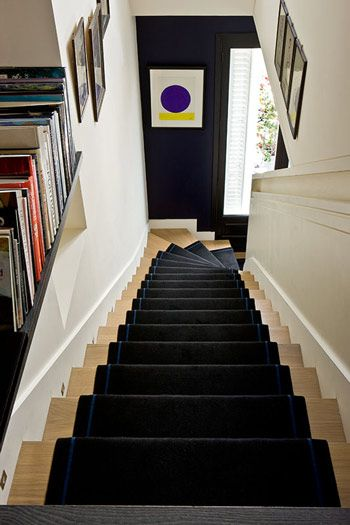 Gilles Trillard Photographe, Paris apartment | art stairs interiors