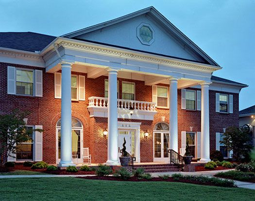 Sorority House Tour Tri Delta At The University Of South