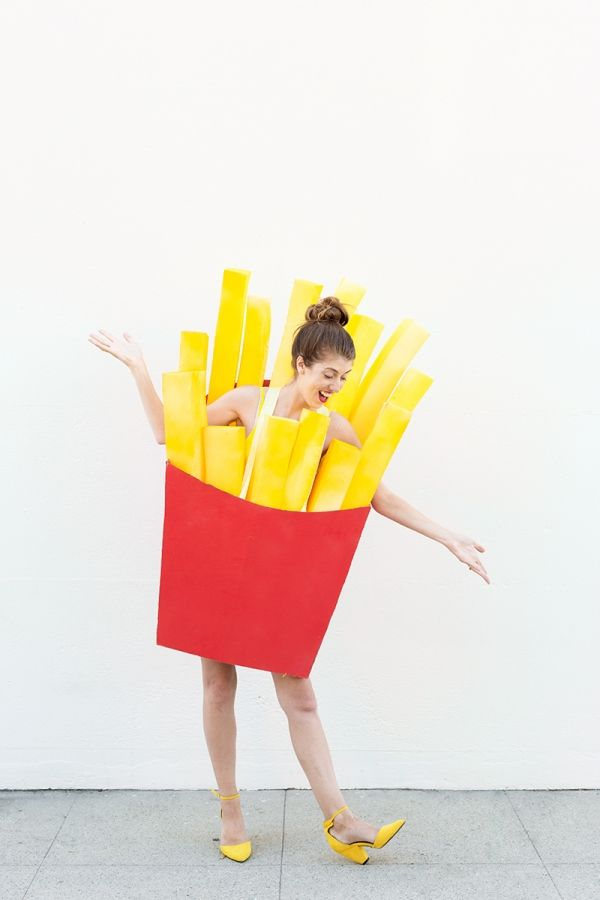 DIY Fries (Before Guys!) Costume Fries, Guy costumes and Costumes - mens homemade halloween costume ideas