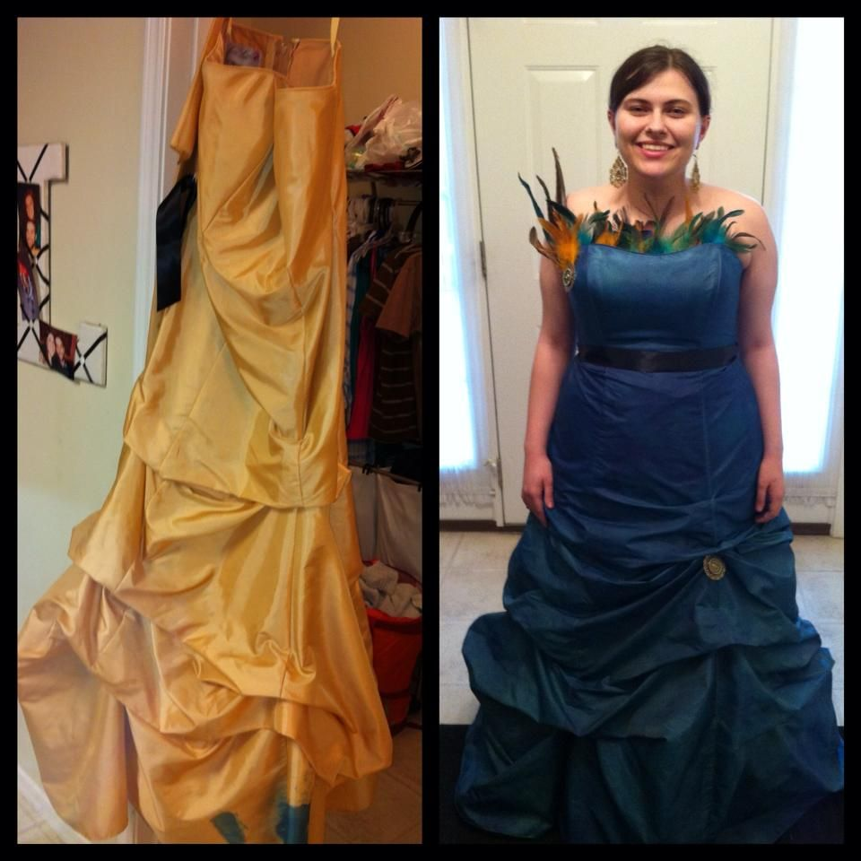 Upcycled Prom Dress We Bought The Dress At A Fundraiser For 25 We