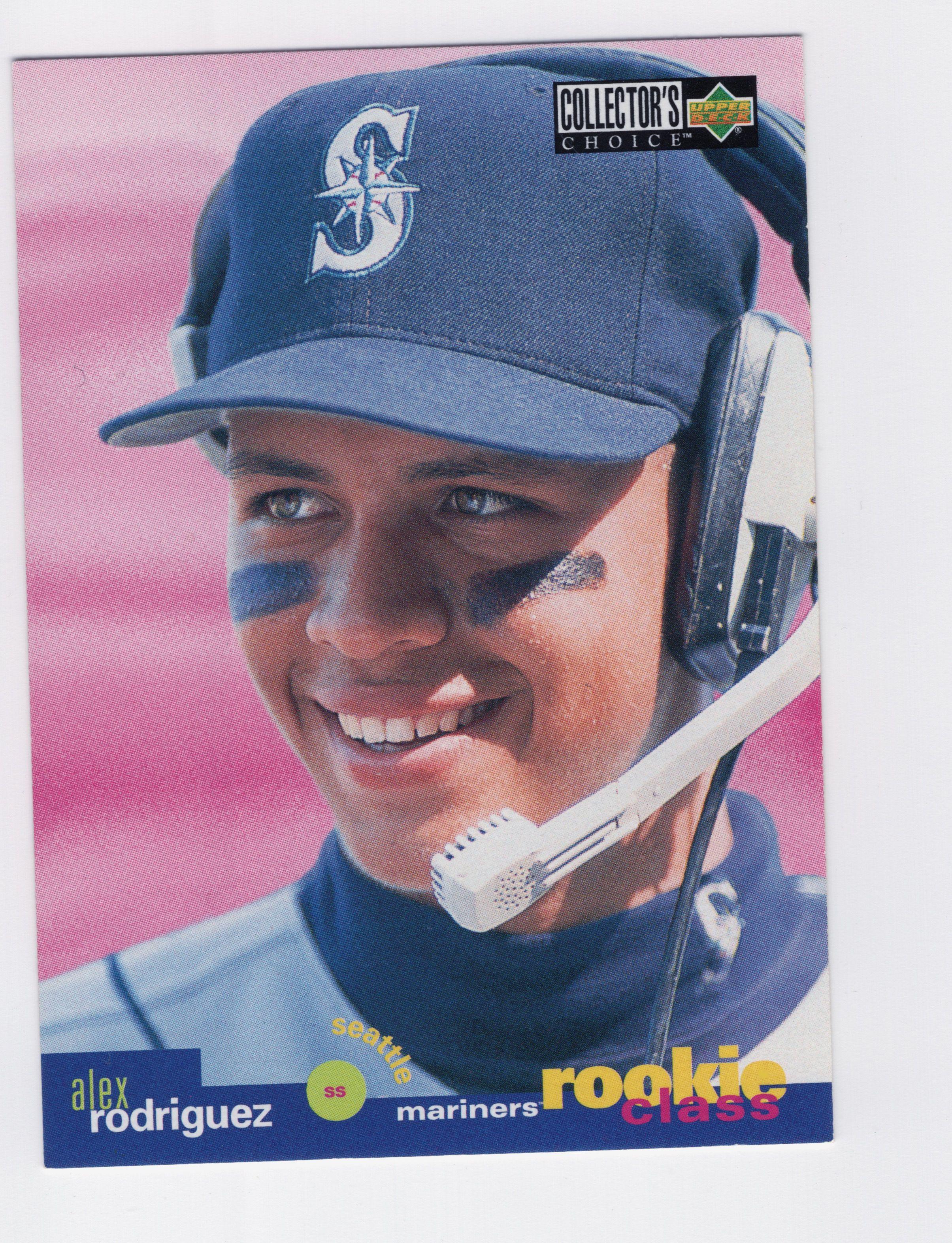 Alex rodriguez 1995 upper deck collectors choice upper