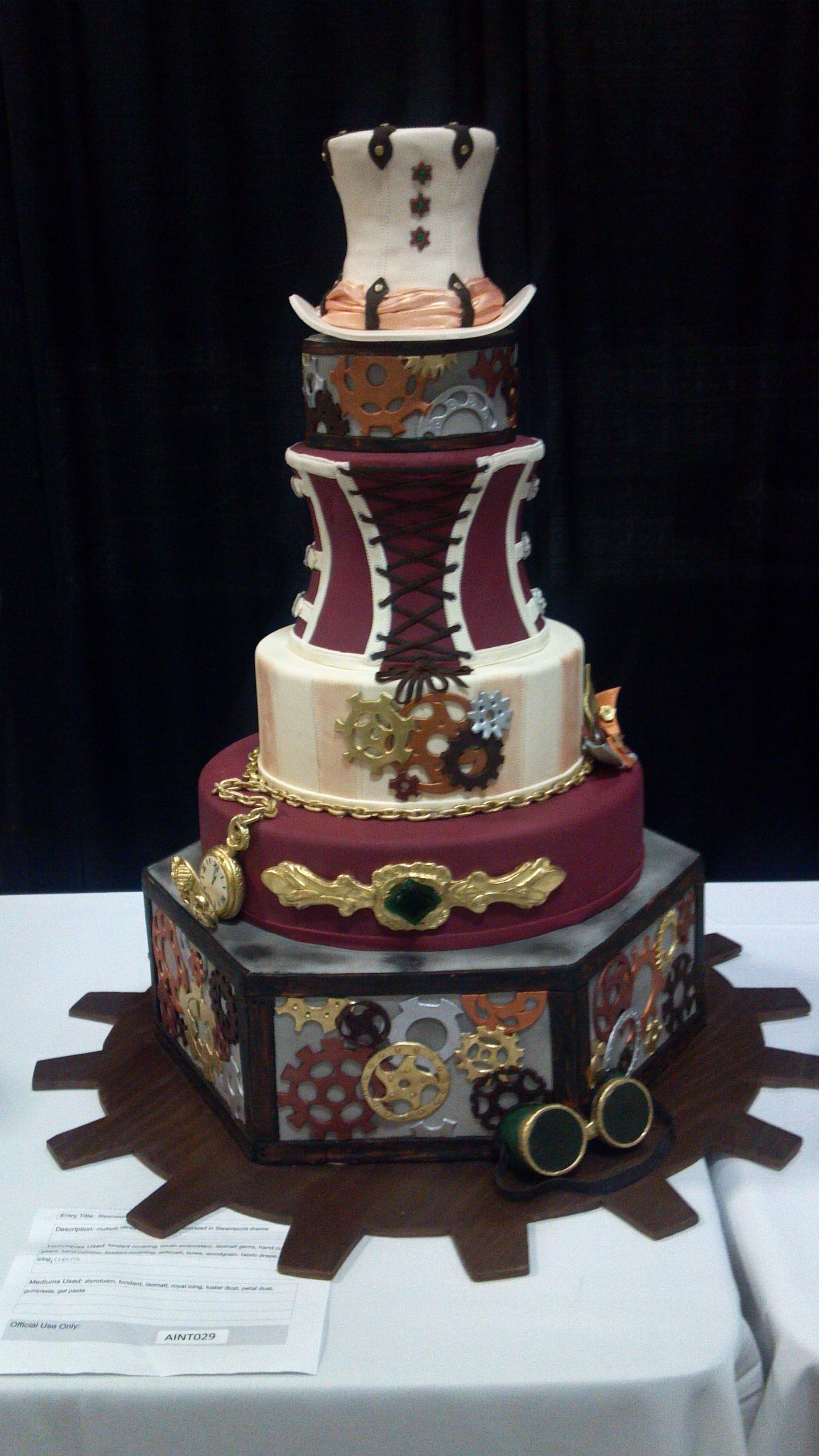 wedding cakes austin tx steampunk wedding cake tx steampunk 23826