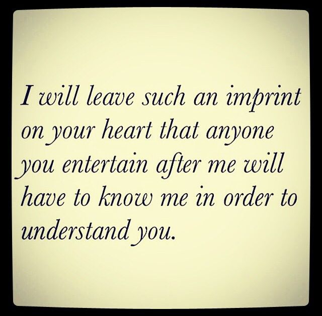 Imprint on my heart quote