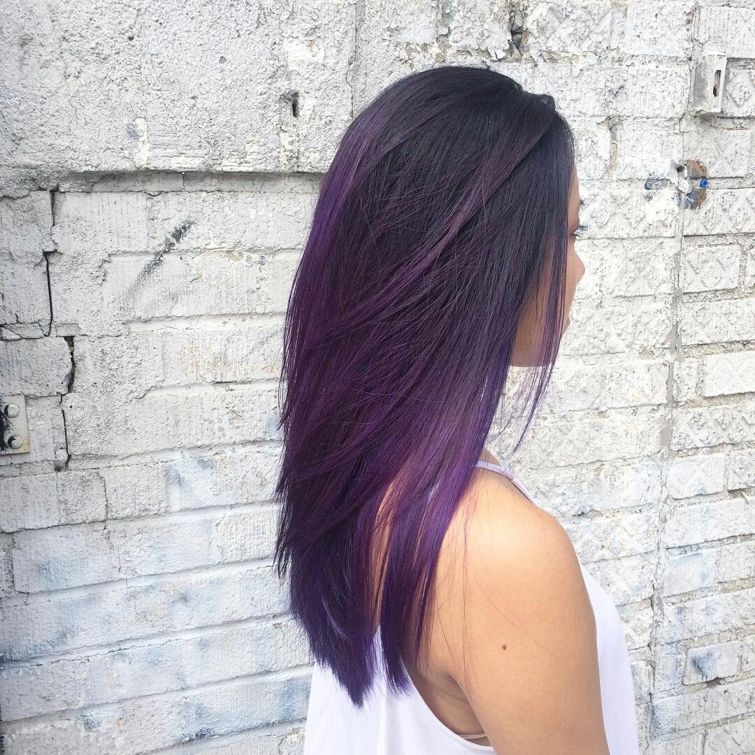 Pin by Rosa Jones on purple hair style  Pinterest  Purple hair