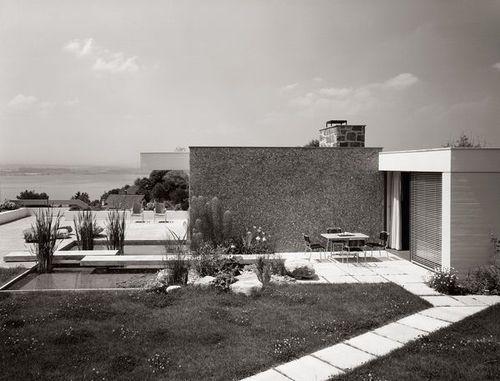 House Bernhart 1961 In Zug Switzerland By Hafner Wiederkehr Architecture My House Century