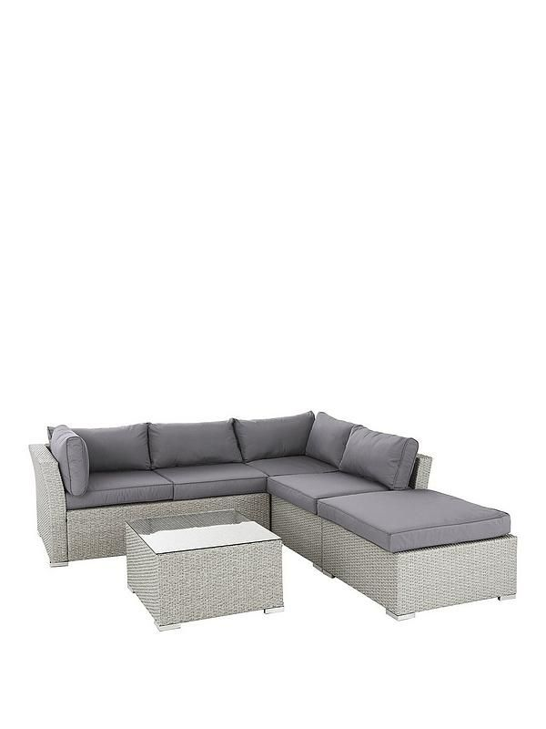 Surprising Athens 4 Piece Corner Set With Table And Chaise Garden Short Links Chair Design For Home Short Linksinfo