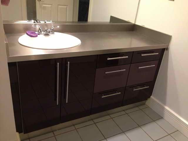 How To Reface Bathroom Cabinet Doors Cabinets Guide Cabinet