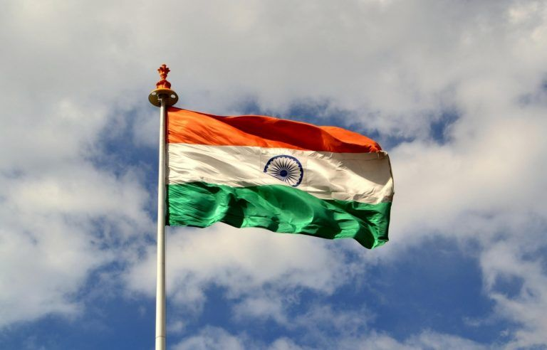 India Flag Wallpaper For Independence And Republic Day Download Fluttering On The Sky Hd Wallpapers Wallpapers Download High Resolution Wallpapers Indian Flag Wallpaper Indian Flag Images India Flag