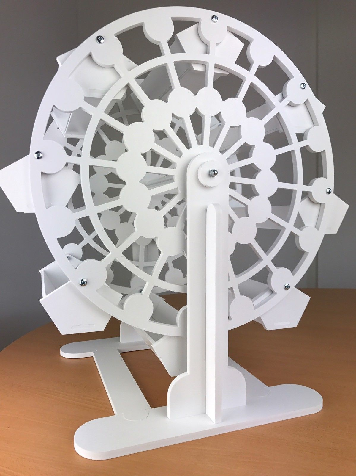 White With 16 Trays *For Sale* Candy Cart Ferris Wheel Candy//Sweets//cupcakes