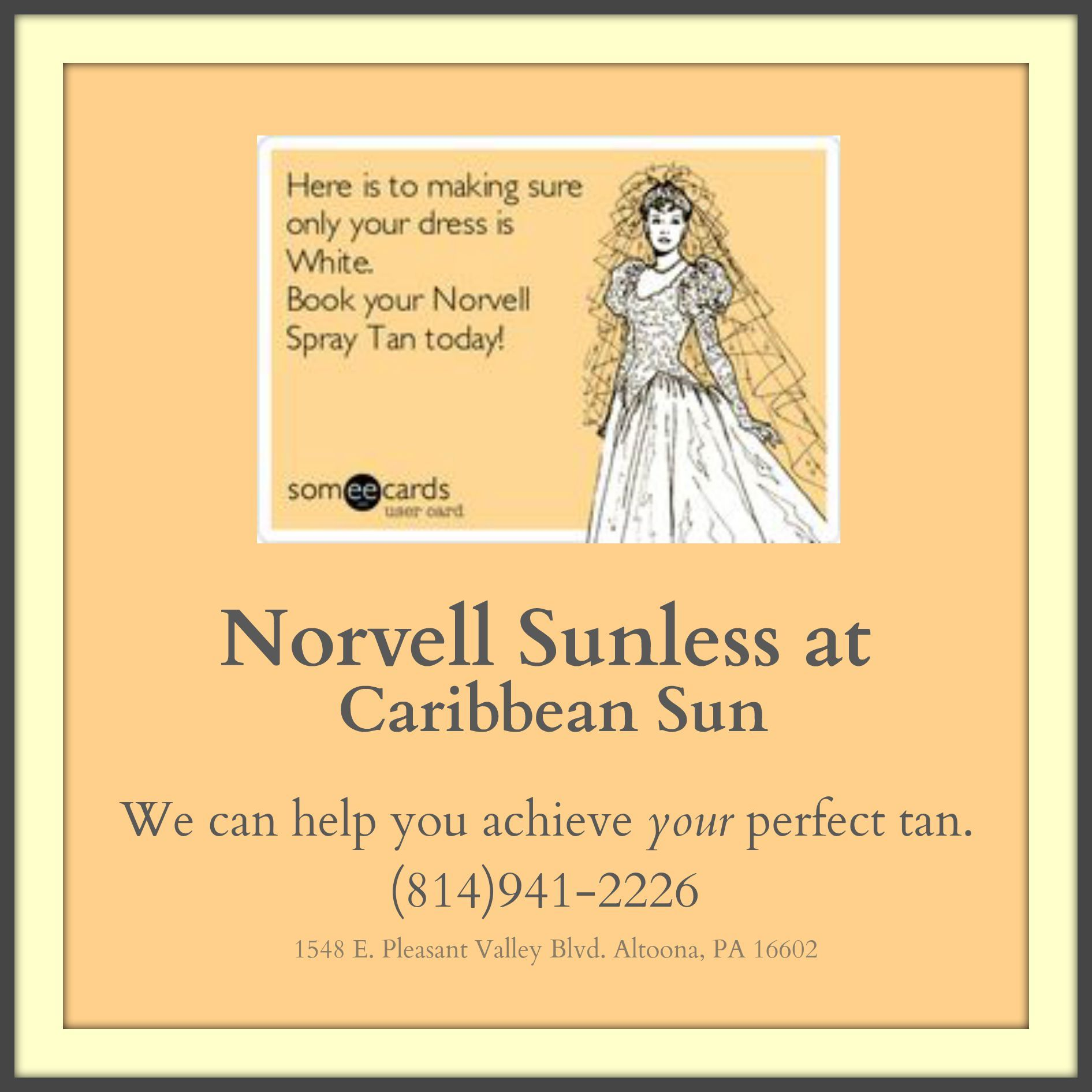 At Caribbean Sun Tan Spa Altoona Pa Norvell Auto Revolution Every Tuesday Until January Take 10 Spray Tan Single Sessions Norvell Spray Tan Norvell