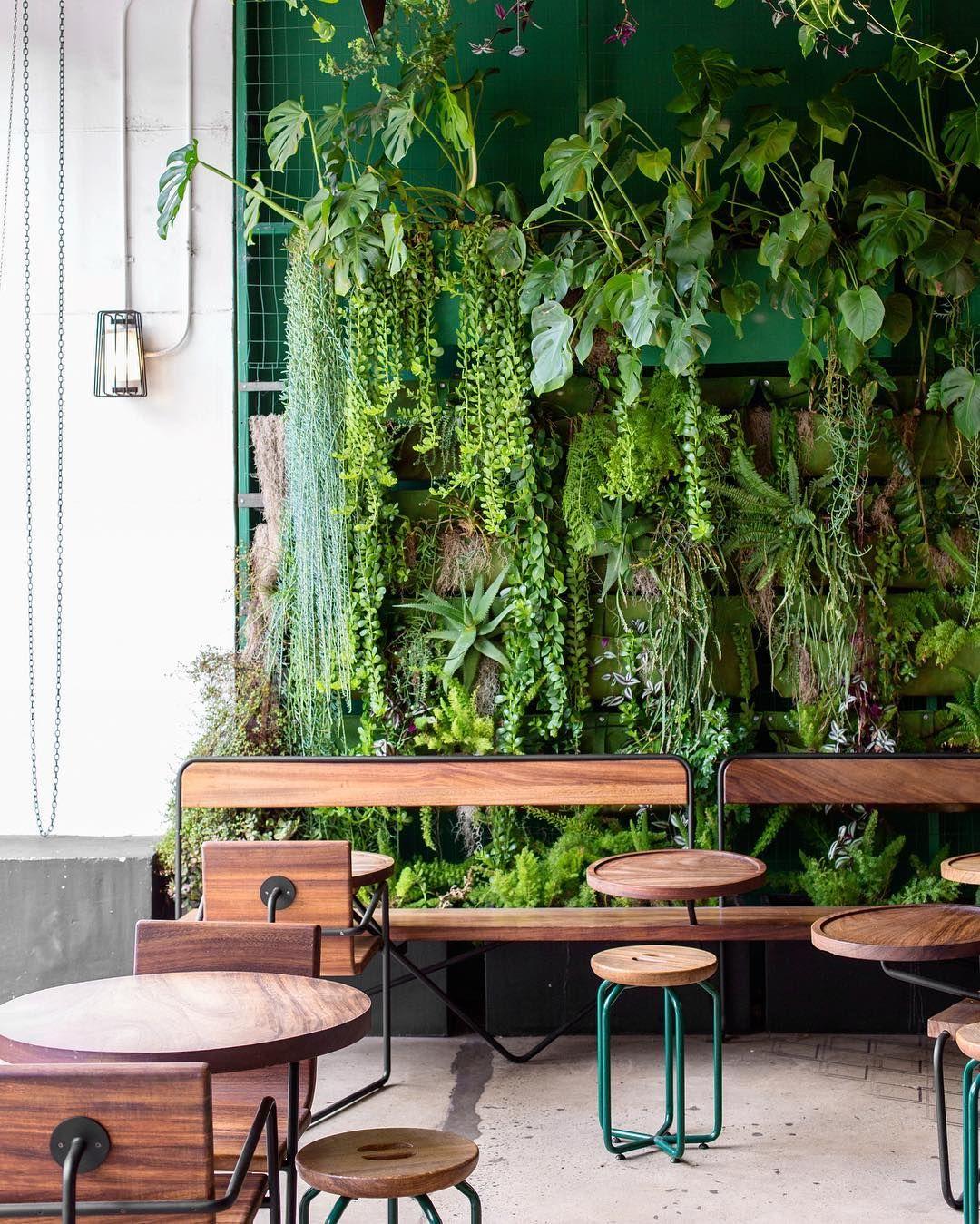 I Love Vertical Gardens! #gardens #homedesign