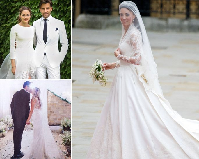 See 100 Sketches of the Most Iconic Wedding Dresses Ever as One