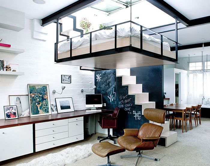 50 Small Studio Apartment Design Ideas (2019) U2013 Modern, Tiny U0026 Clever    InteriorZine   Interior Design   Pinterest   Studio Apartment Design, Small  Studio ...
