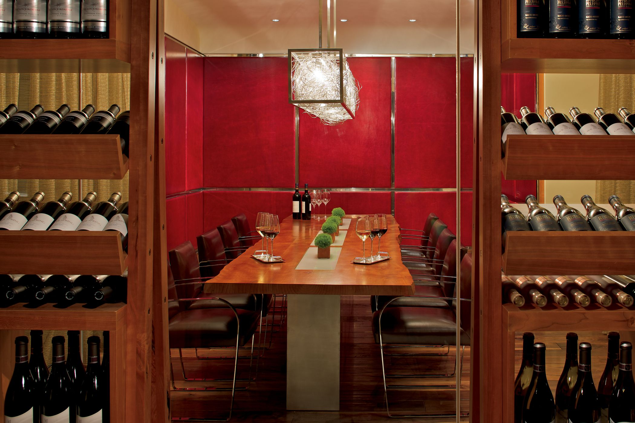 In Toca At The Ritz Carlton Toronto Enjoy Dinner With A View From The Private Dining Room Looking Into Private Dining Room Restaurant Lighting Private Dining