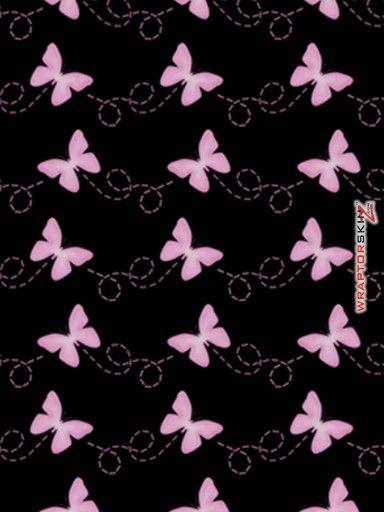 Pink Butterfly Wallpaper | iPad Skin - Pastel Butterflies ...