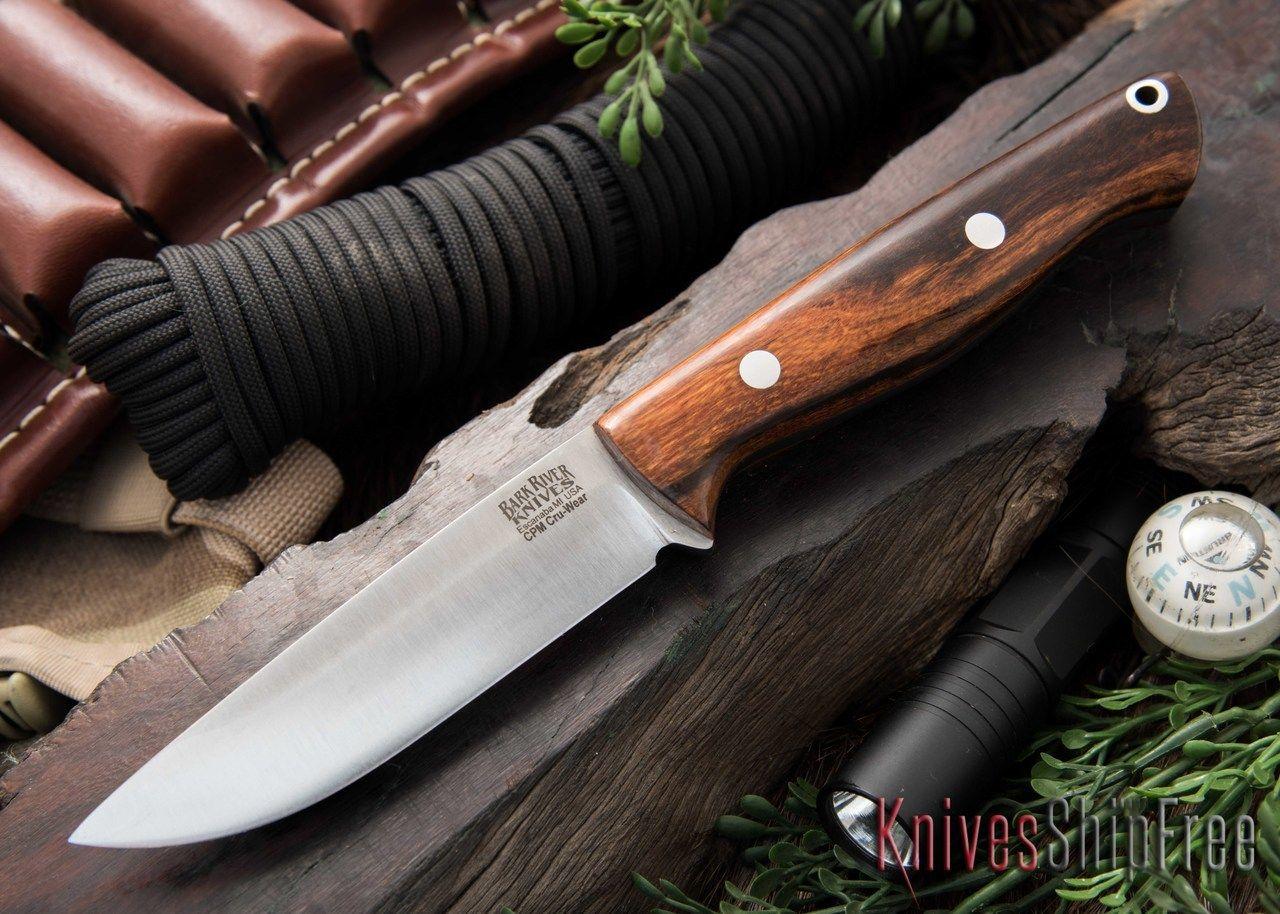 Bark River Knives: Gunny Hunter - CPM Cru-Wear - Desert Ironwood #1