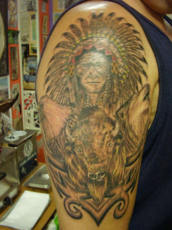 Native American Tattoo Designs And Meanings Images Of Native American Tattoos Indian Tattoo Design Indian Tattoo Design Indian Tattoo Native American Tattoos
