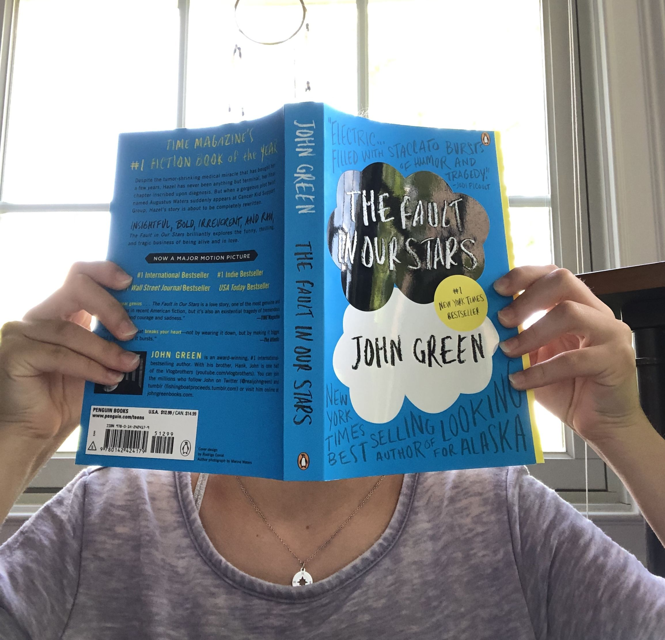 Pin by Sarah Verrastro on Reading | The fault in our stars ...