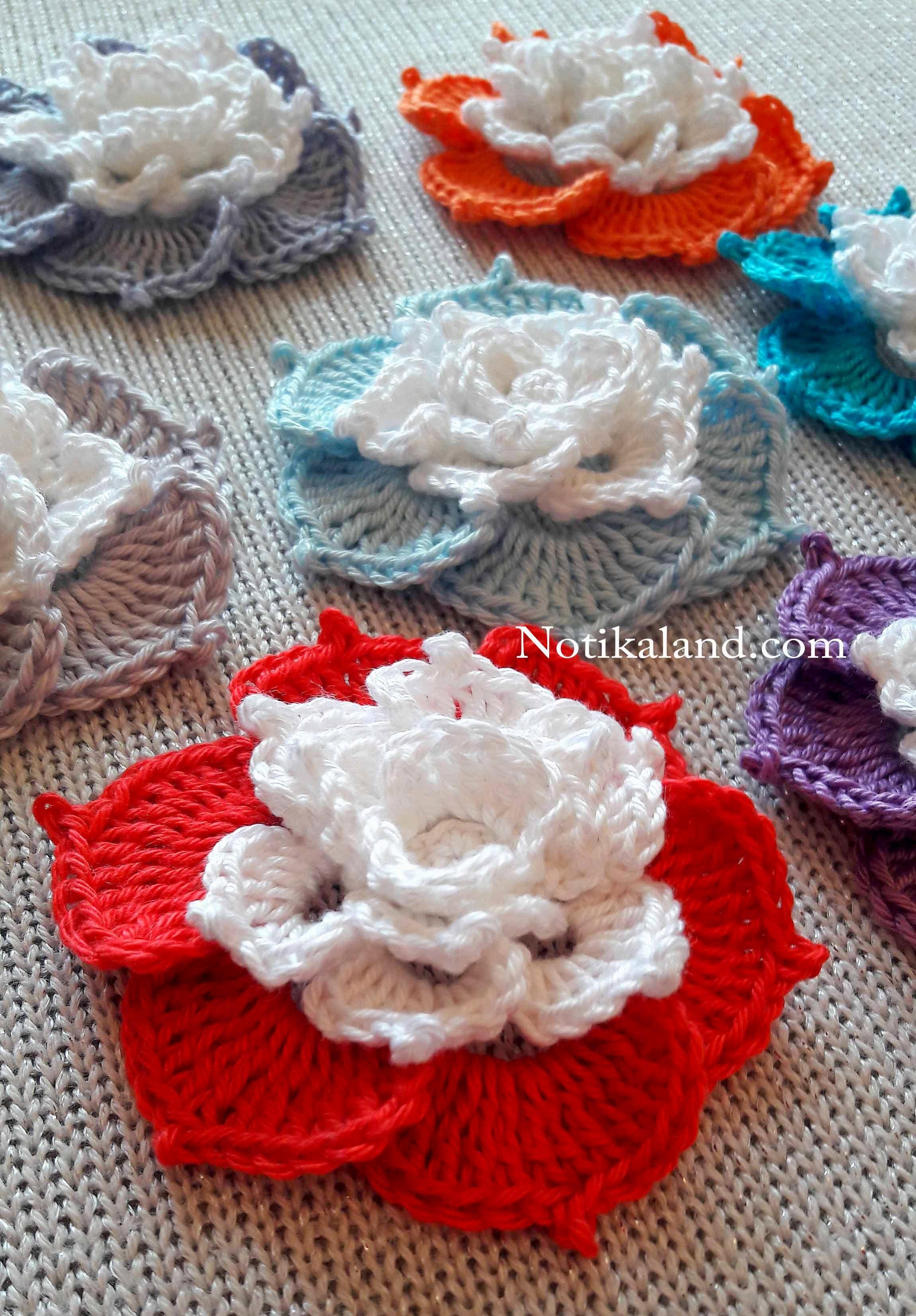 Pin de Marion en Amg/Cro/Knit | Pinterest | Flores, Flor y Ganchillo