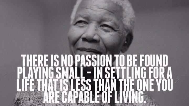 You Deserve Nothing But The Best Inspiration 365 Nelson Mandela