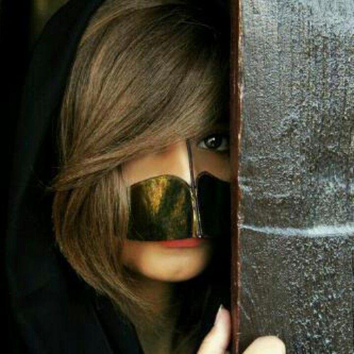 صور بنات مبرقعة برقع Mego Arab Beauty Beautiful Eyes Square Sunglasses Women