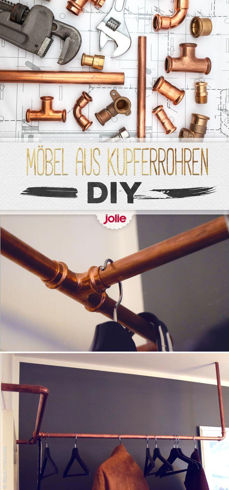 Industrial Design und DIY mit Kupferrohren