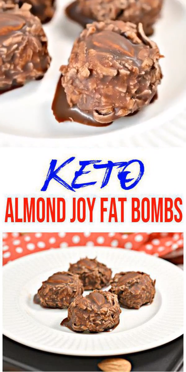 Photo of BEST Keto Fat Bombs! Low Carb Keto Almond Joy Candy Fat Bombs Idea – No Bake – Sugar Free – Quick & Easy Ketogenic Diet Recipe – Completely Keto Friendly