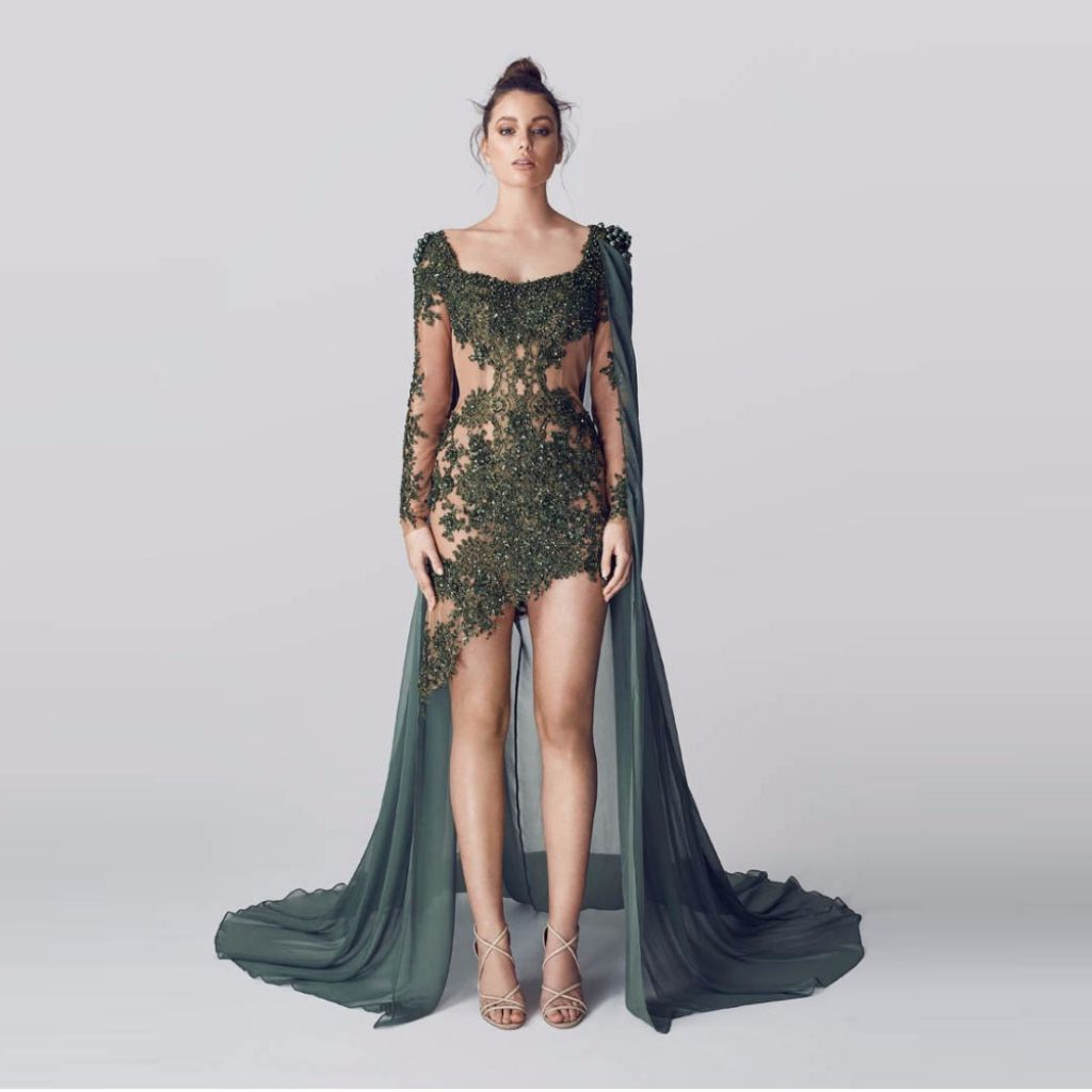 army green prom dress - most expensive prom dress Check more at http ...