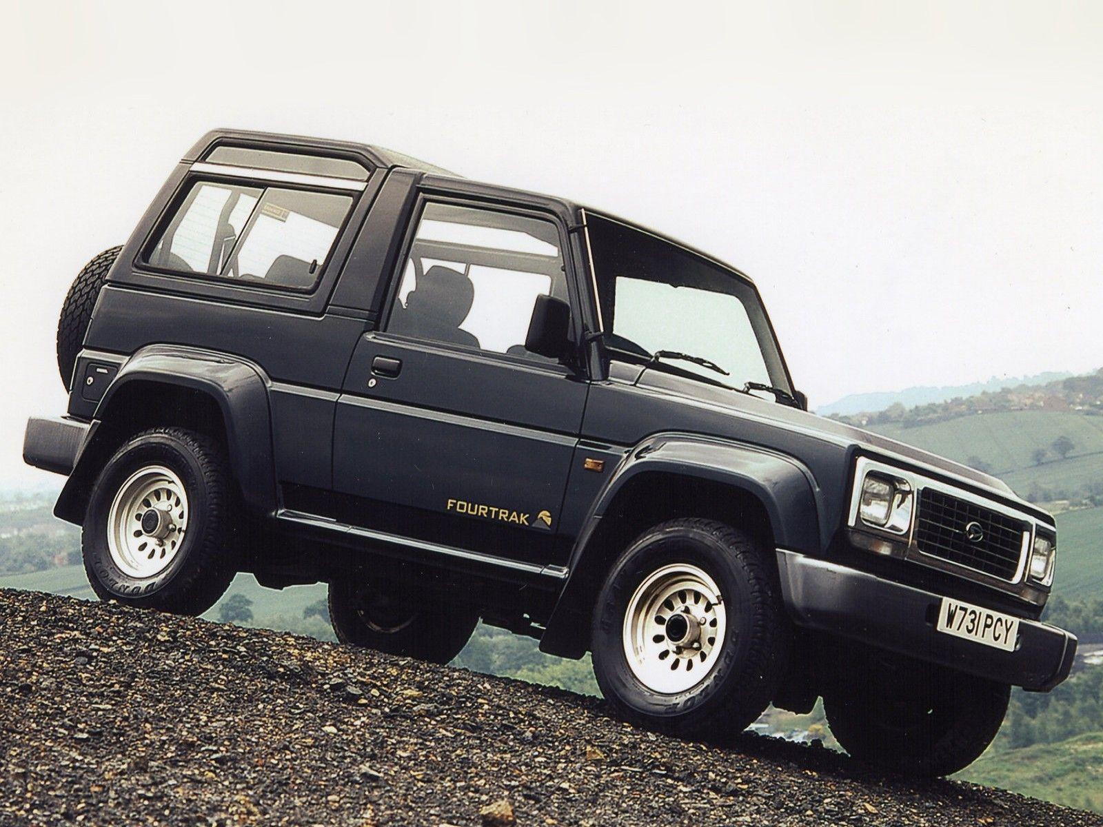 Daihatsu Fourtrak 1997 Dengan Gambar Mobil Modifikasi Mobil