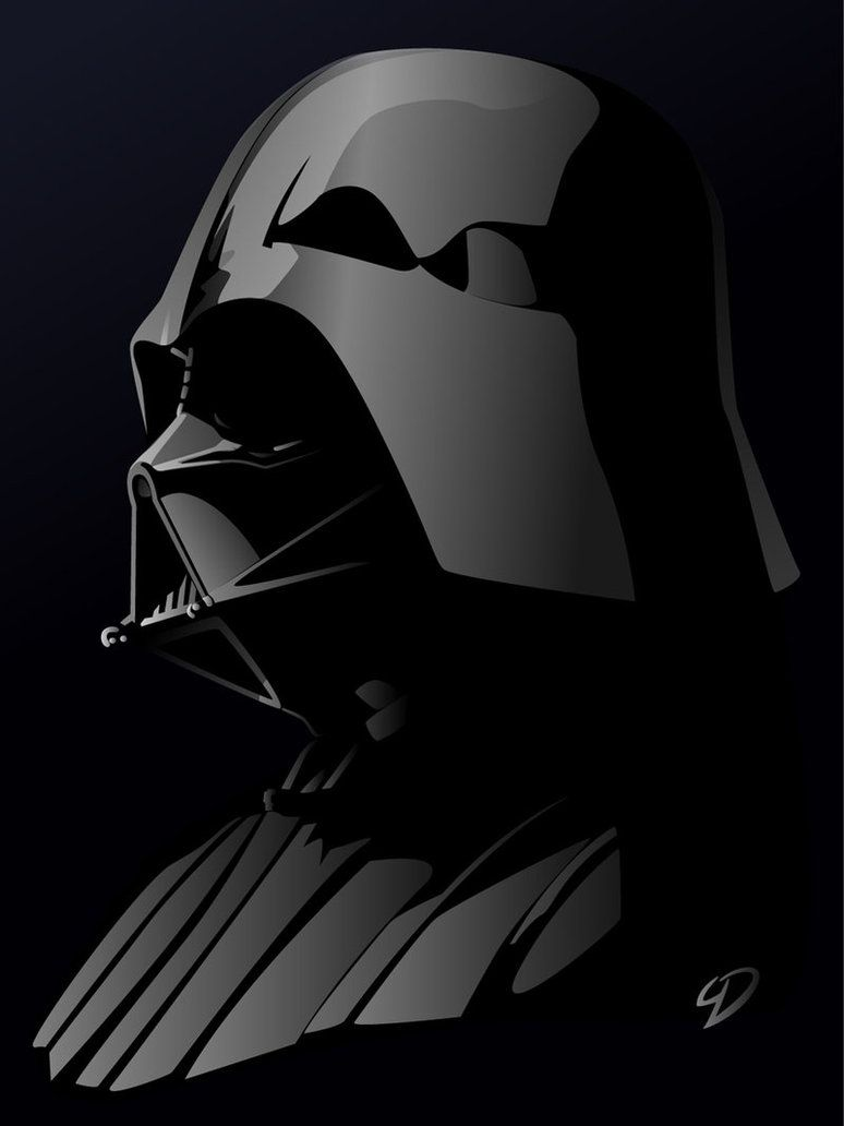 Darth Vader Abstract Profile Star Wars Images Star Wars Art Star Wars Poster