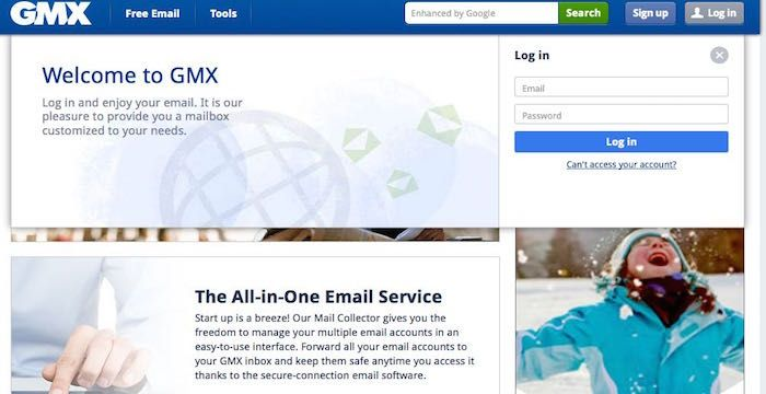 GMX sign in | Sign Ins | Free stuff by mail, Signs, Free