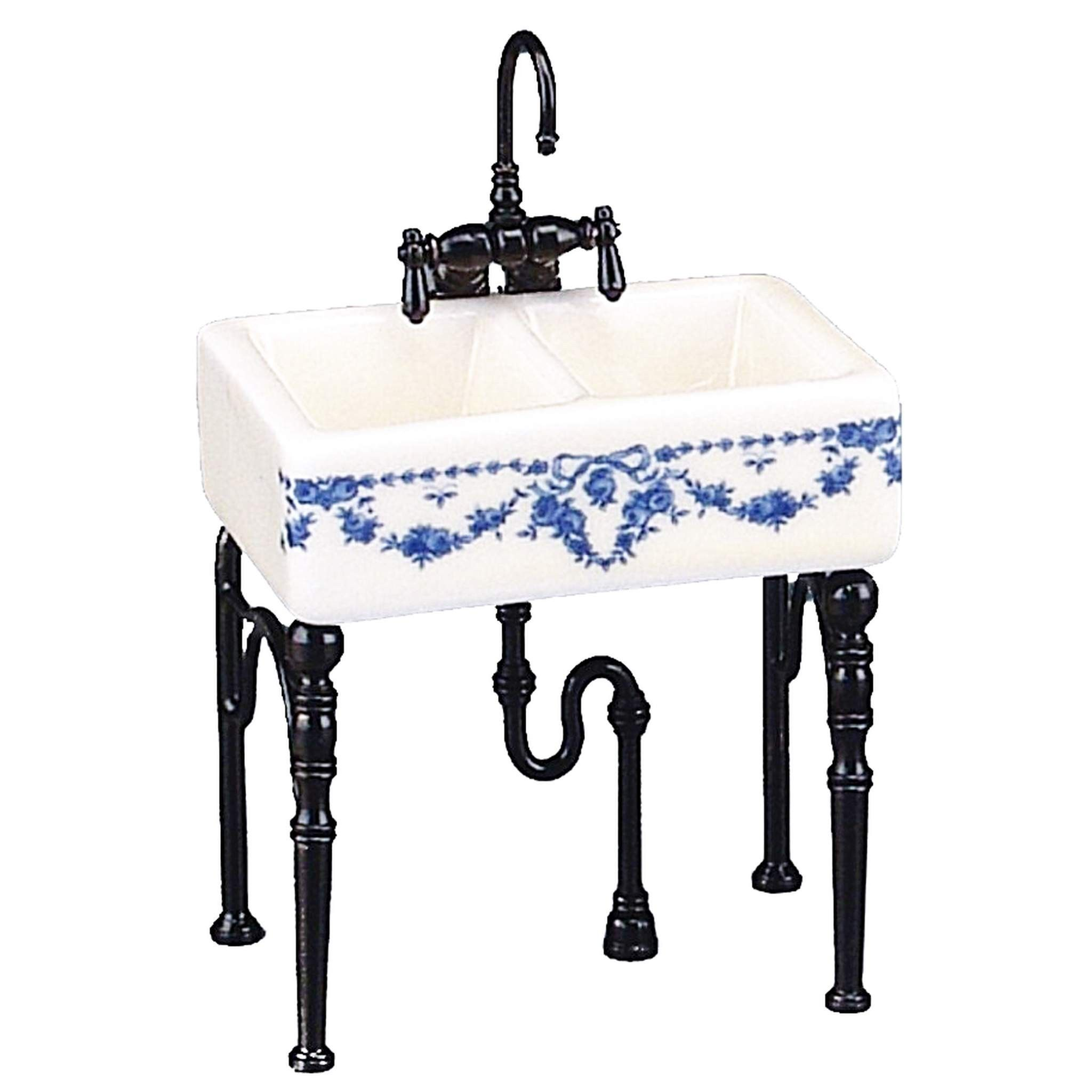 Reutters Small Kitchen Sink Without Decoration   Doll house and ...