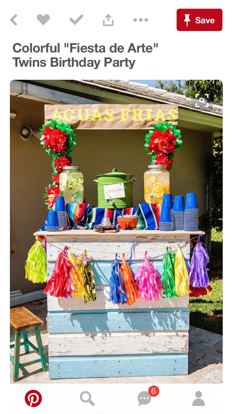 table de bonbons fete mexicaine anniversaire 40 ans idees de fete cotillons
