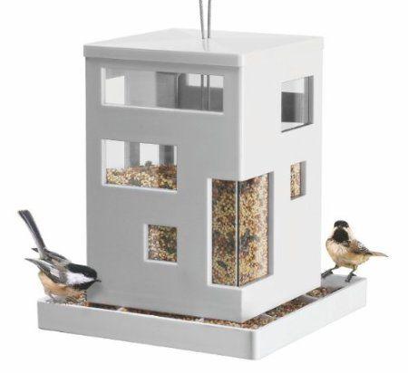 Bird Cafe Umbra Futterhaus Futterhäuschen Vogelhaus Vogelhäuschen  Vogelvilla Vogeltränke: Amazon.de: Haustier
