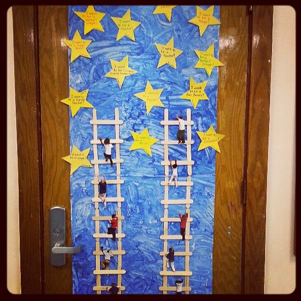 Reaching For The Stars Class Group Display Classroom