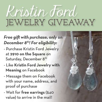 Just In Time For The Holidays Kristin Ford Jewelry Giveaway At