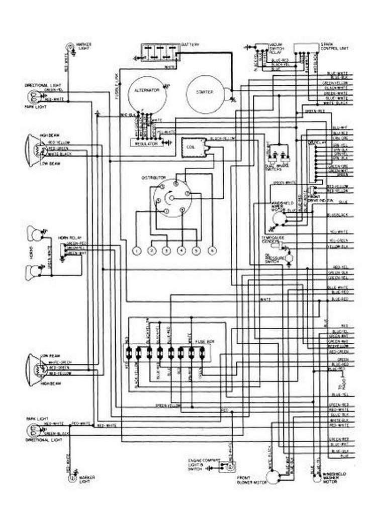 2080 Of2 Wiring Diagram In 2020 Schaltplan Chevy 1951 Chevy Truck