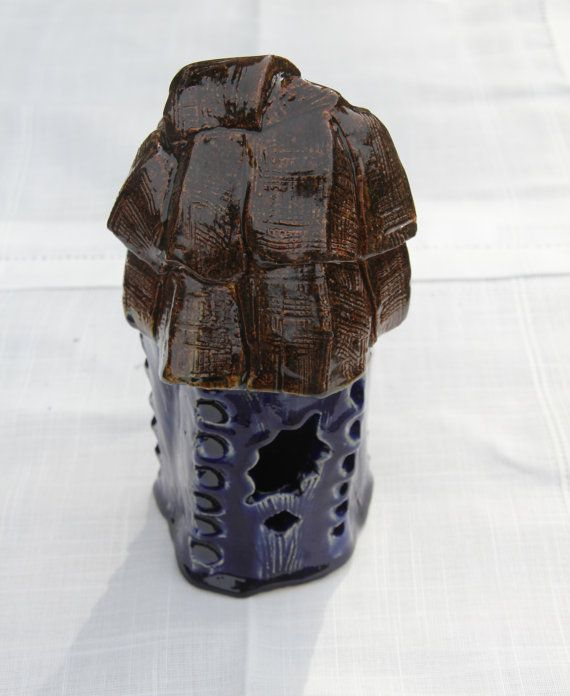 Ceramic Birdhouse by AlbertLovesFrida on Etsy, $64.00