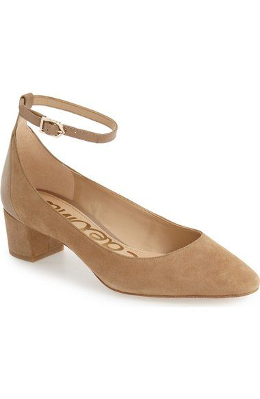 7fcd9473c28aba Sam Edelman  Lola  Ankle Strap Pump (Women) available at  Nordstrom ...