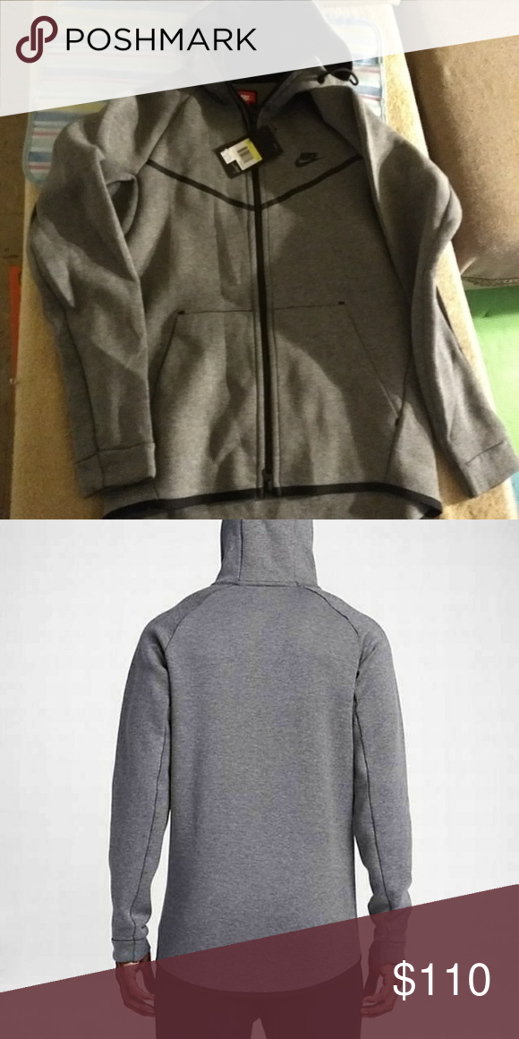a4eb9d688128 New mens tech fleece windrunner gray s small New with tags  130 Nike tech  windrunner fleece hoodie. Size small Nike Jackets   Coats Performance  Jackets