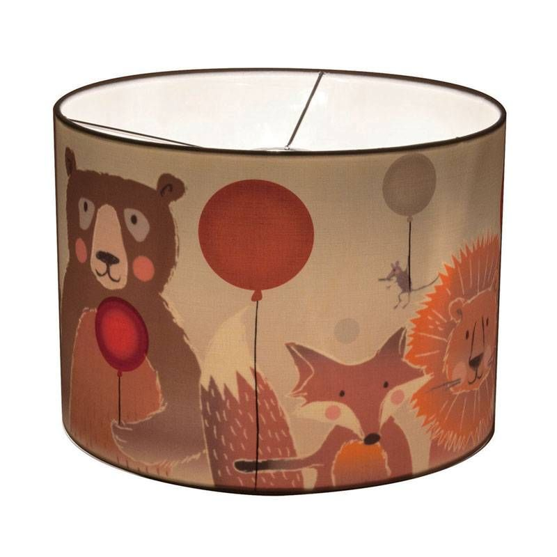 Marvelous Wunderlampe Ballon Hat Ein Abdruck Von Schwebende Ballons Auf Der Außenseite.  Herrlich Farbig Und Frisch, Grau, Schwarz Und Weiß. Bär, Löwe Und Fucu2026