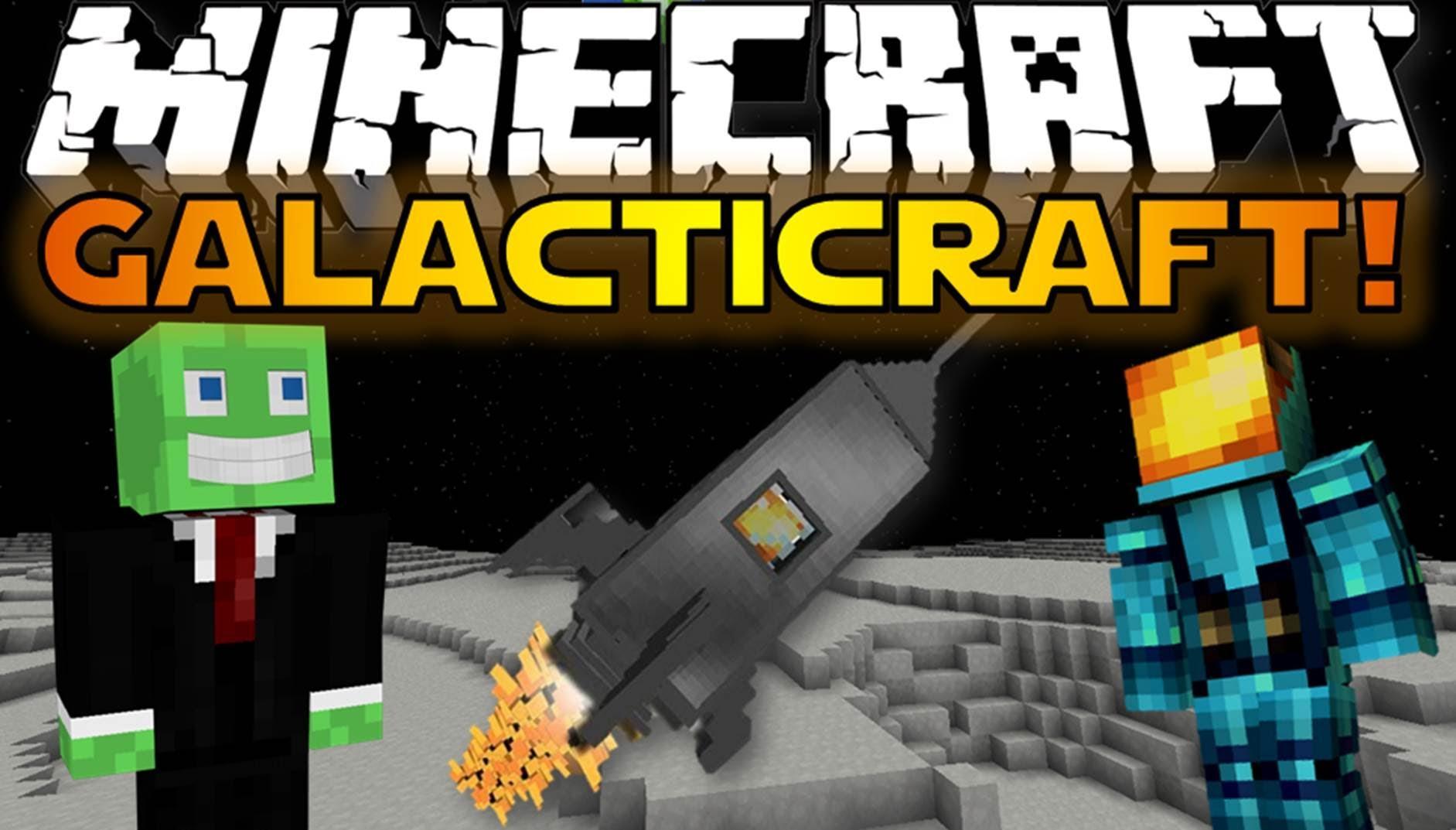 Minecraft Mods Galacticraft Build A Rocket Go To The Moon Minecraft Mods Build A Rocket Minecraft