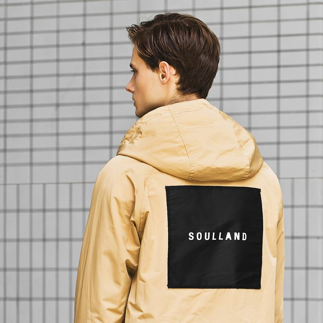 Check out the new arrival from Copenhagen menswear apparel label @soullandcph. Available now at the #hypebeaststore.