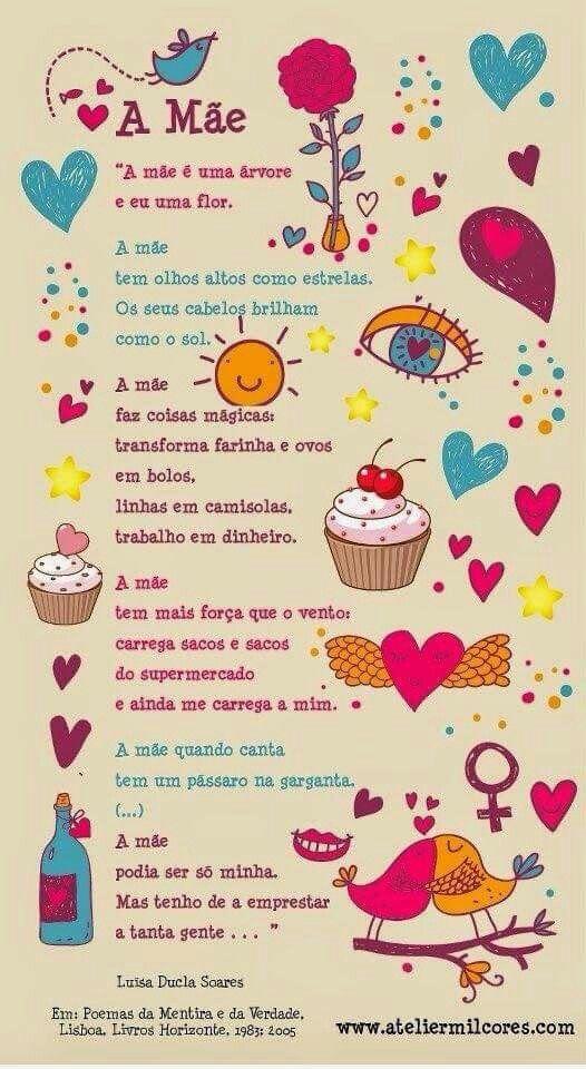 Dia Das Maes Poema De Luisa Ducla Soares Diadamae Poema Com