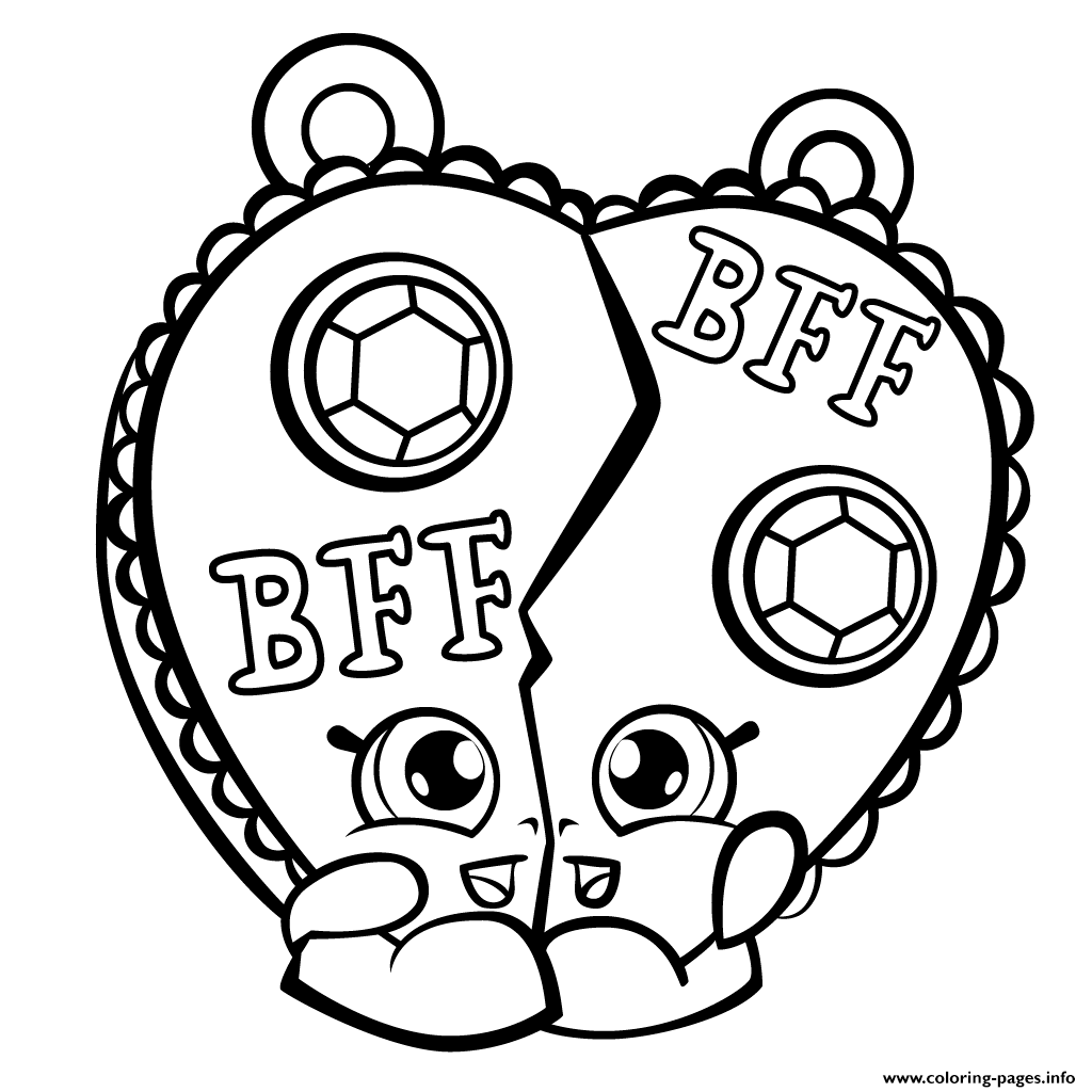 Lovely Print Chelsea Charm Shopkins Season 3 Coloring Pages