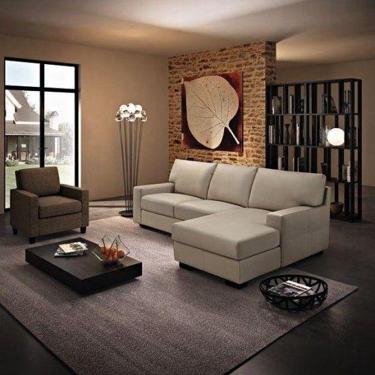 Questo ambiente della casa, a meno che non si possieda una stanza dedicata, è spesso connesso al soggiorno o alla cucina, è quindi parecchio soggetto al passaggio e alla vista delle persone, anche ospiti improvvisi. Come Disporre I Divani In Salotto Design Di Mobili Divani Arredamento Salotto Grande